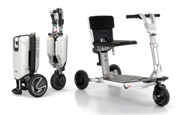 Atto Mobility Scooter Mobilitäts Scooter weiss 6 km/h